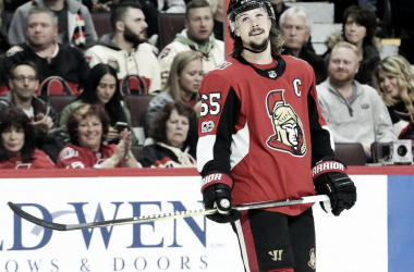 Erik Karlsson may be traded before the trade deadline if a deal can be worked out. (Photo: OttawaSun.com)