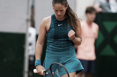 Daria Kasatkina will be extremely happy with her performance today | Photo: Jimmie48 Tennis Photography