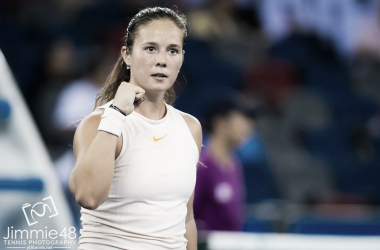 Daria Kasatkina will be delighted with how she escaped from the brink today | Photo: Jimmie48 Tennis Photography
