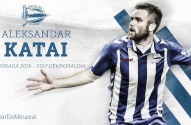El Deportivo Alavés ficha a Katai