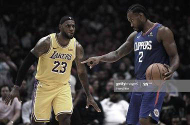 Lakers y Clippers: el duelo de la temporada