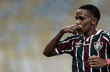 Kayky s unirá a la plantilla blue una vez cumpla la mayoría de edad. Vía: Fluminense en Twitter.