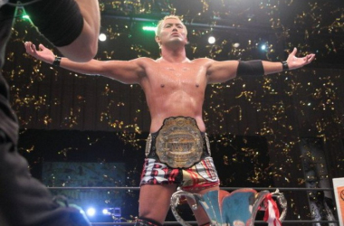 Kazuchika Okada places at no.1 on the PWI 500 rankings (image: cageside seats)