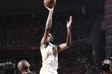 Kevin Durant. Fonte: Golden State/Twitter