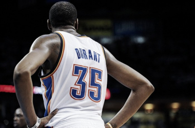 Kevin Duant left the Oklahoma City Thunder for the Golden State Warriors fansided.com