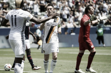 Robbie Keane guides Los Angeles Galaxy to 4-2 victory over New England Revolution