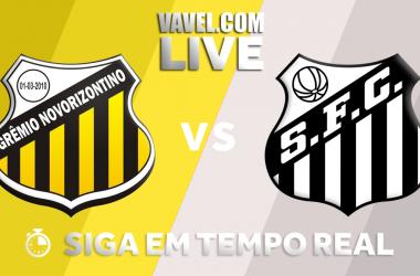 Resultado e gol para Santos 0x1 Novorizontino
