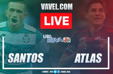 Goal and Highlights: Santos 1-0 Atlas, 2020 Liga MX