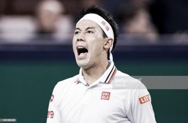 Kei Nishikori estará en las semifinales del torneo de Viena. Foto: Getty Images.