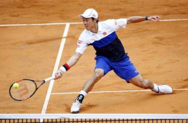 Nishikori vence Paul Henri-Mathieu e avança em Roland Garros