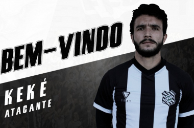 """Figueirense anuncia contratação de atacante Keké: """"Prazer em vestir essa camisa"""""""