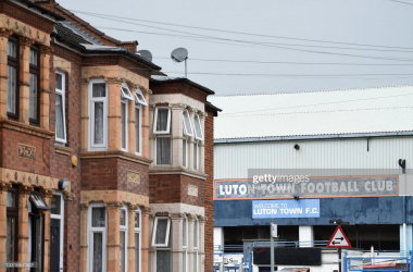 Above: Lutron Town return home to historic Kenilworth Road for Saturday afternoon's clash with Swansea City.