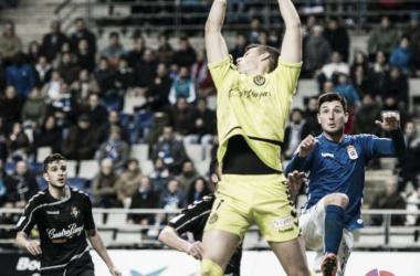 Kepa tuvo trabajo en el triunfo del Valladolid en el Carlos Tartiere | Foto: LaLiga