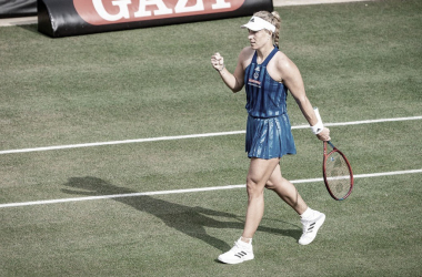 Angelique Kerber venceuEkaterina Yashina no WTA 250 de Bad Homburg 2021 (WTA / Divulgação)