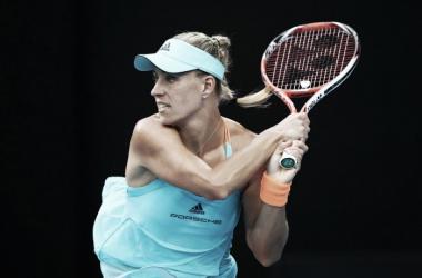 Angelique Kerber en su debut en el Open de Australia 2017   Foto: zimbio