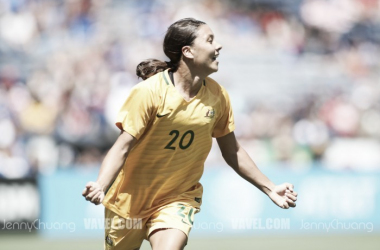 Sam Kerr nominated for AFC Women's Player of the Year | Source: Jenny Chuang-VAVEL USA
