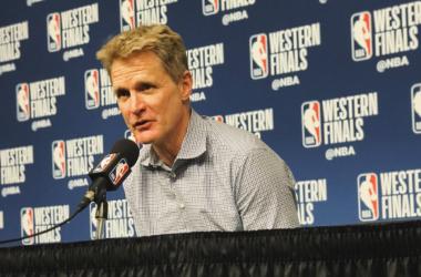 """NBA Playoffs - Golden State impatta la serie, Kerr elogia i suoi: """"Grande secondo tempo, grandissima difesa"""" - Foto Warriors Twitter"""
