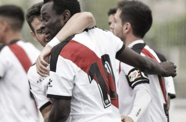 Celebración de uno de los goles. Fotografía: Rayo Valecano S.A.D