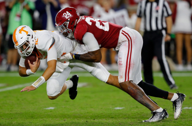 Alabama outside linebacker Terrell Lewis |Kevin C. Cox/Getty Images|