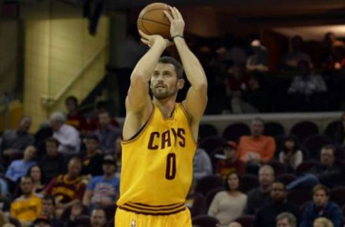 "Report: Kevin Love ""Seriously Considering"" Opting Out This Summer And Could Join Lakers"