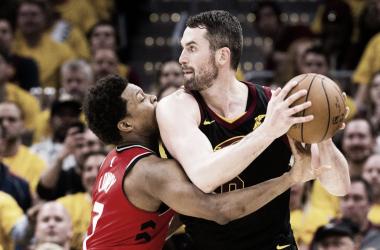 Los Raptors se estrellaron contra su muro los últimos años: Los Cleveland Cavaliers.   Foto: NBA.com/cavaliers