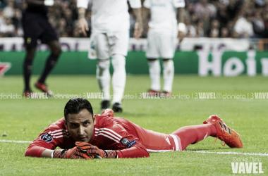 Keylor Navas en un partido con el Real Madrid I Foto: Daniel Nieto (VAVEL)