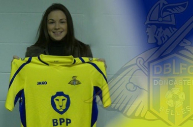 Doncaster Rovers Belles announce signing of Scottish forward Kirsty Hanson