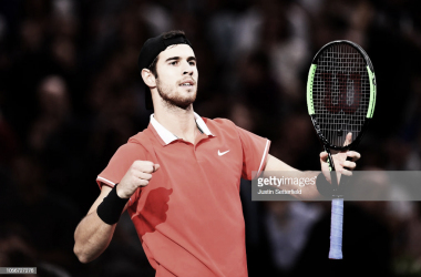 Khachanov jugará su primera final de Masters 1000 ante Djokovic. Foto: Getty Images.