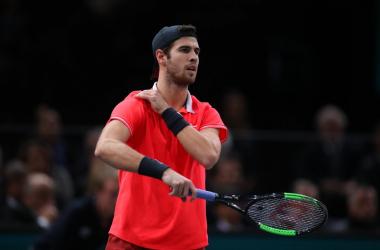 ATP Parigi- Khachanov sorprende Djokovic e vince il suo primo Master 1000