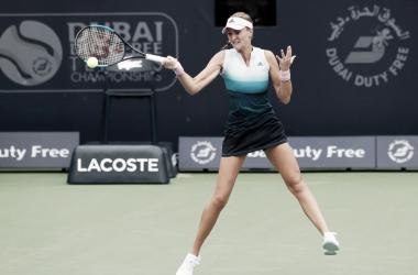 Foto; Divulgação/Dubai Tennis Championships