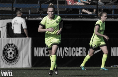After three years with the Seattle Reign, Kim Little has decided to return to Arsenal | Source: Brandon Farris - VAVEL USA