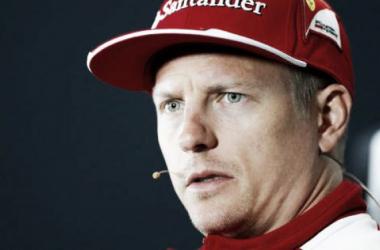 """Kimi Räikkönen: """"Los accidentes son parte del juego"""""""