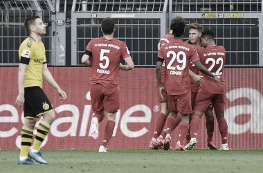 """Bayern Múnich gana """"Der Klassiker"""" y se acerca al campeonato de Bundesliga"""