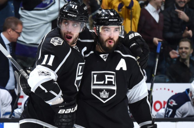 Kopitar and Doughty will be KIngs' key players (Photo: NHL.com)