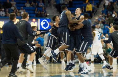 We won't see Monmouth's zany antics in the NCAA Tournament. (Monmouth Athletics)