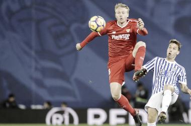 Real Sociedad y Sevilla FC se miden en Anoeta. | Foto: Sevilla FC