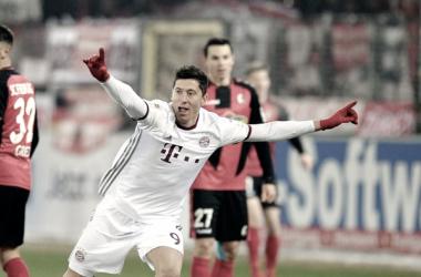 Lewandowski, muy decepcionado con Carlo Ancelotti