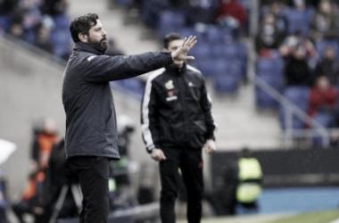"""Quique Sánchez Flores: """"Un jugador no puede silenciar una afición y menos la nuestra"""""""