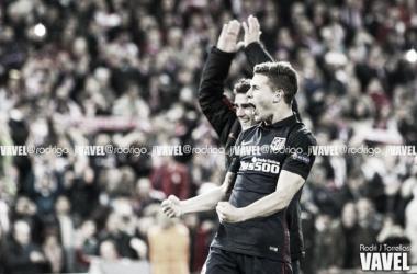 Lucas con el Atlético l Foto: VAVEL