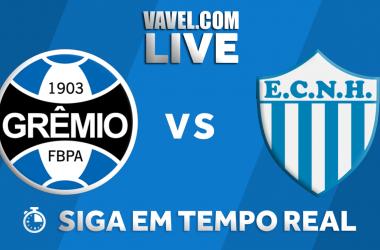 Resultado Grêmio x Novo Hamburgo no Campeonato Gaúcho 2018 (3-0)