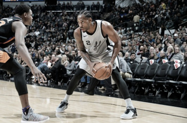Kawhi Leonard. Fonte: NBA.com/Twitter