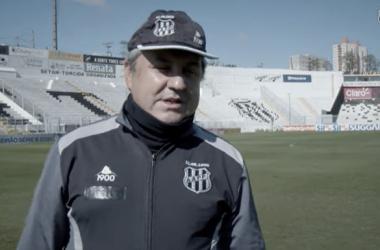 Gilson Kleina falou após Botafogo 2 a 0 Ponte Preta (Reprodução / PonTV)