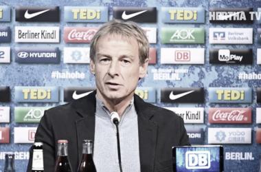 Jürgen Klinsmann es nuevo entrenador del Hertha BSC