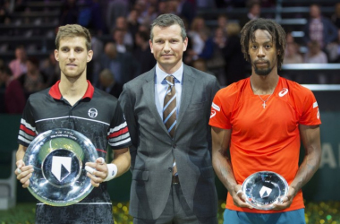 Martin Klizan claims his first title in 2016/Photo: ABN Amro World Tennis Tournament