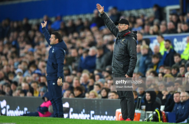 Liverpool and Everton could not be separated last weekend at Goodison Park (Getty Images)