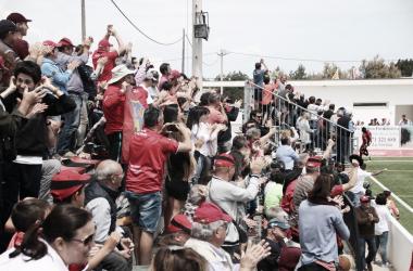 La afición, volcada con el equipo | Foto: SD Formentera
