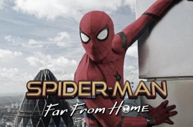 Poster oficial de Spiderman Far From Home / Foto: Twitter de Marvel Studios