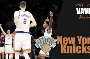 In the blink of an eye, the Knicks' playoff hopes shattered.