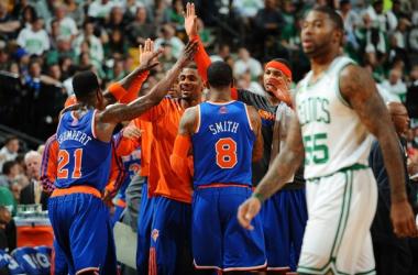 New York Knicks vence e elimina Celtics dos playoffs