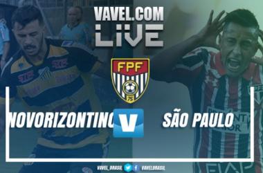 Novorizontino empata com o São Paulo no Campeonato Paulista (2-2)